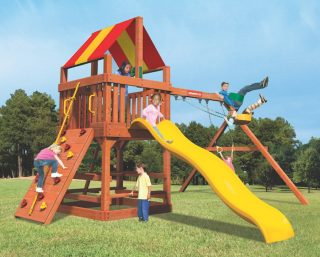 Woodplay Playsets Tiger Tower