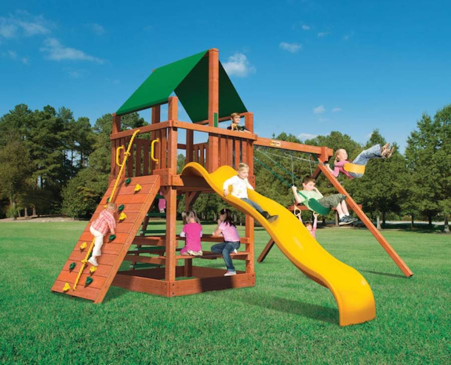 Monkey Tower (MT A) by Woodplay Playsets / Playground Warehouse