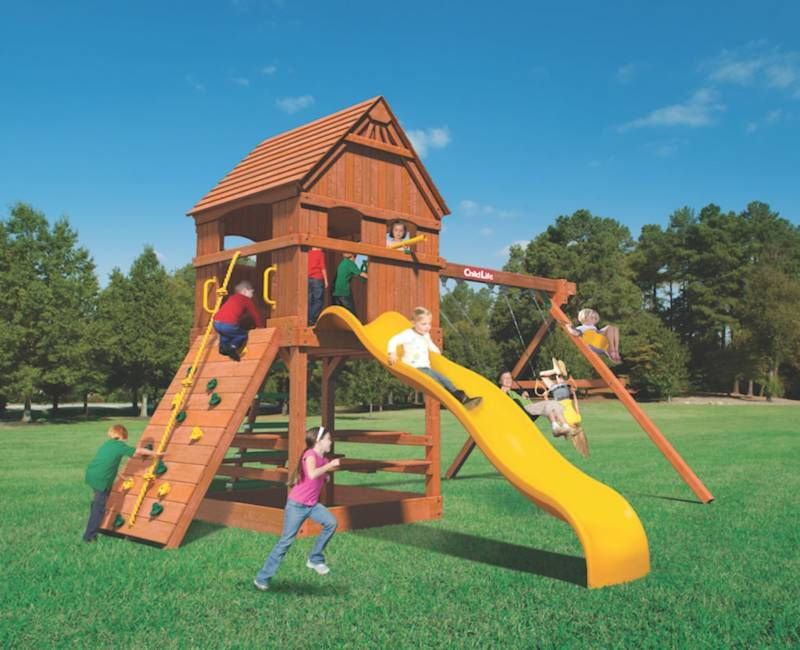 Woodplay Playsets Monkey Tower MT.C