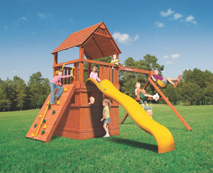 Woodplay Playsets Monkey Tower MT.D