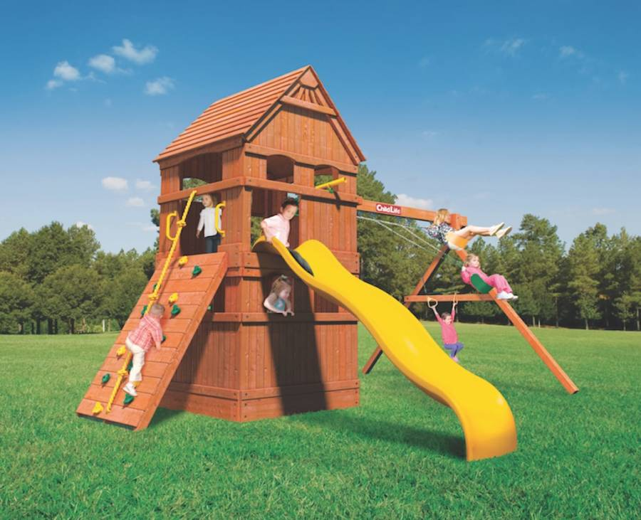 Woodplay Playsets Monkey Tower MT.E