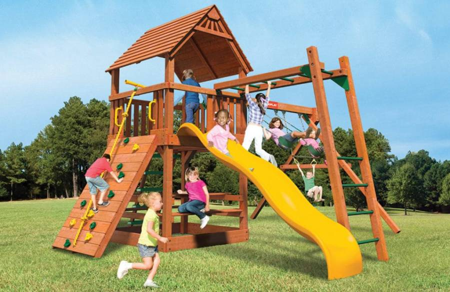 Woodplay Playsets Monkey Tower MT.G