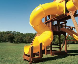 9' Deck Height Residential Slides