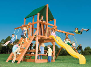 Woodplay Playsets Playhouse PH.5A