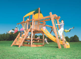 Woodplay Playsets Playhouse PH.5C