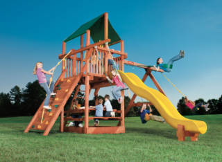 Woodplay Playsets Playhouse PH.6B