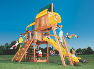 Woodplay Playsets Playhouse PH.6C