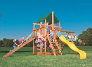 Woodplay Playsets Playhouse XL PH.5XLA