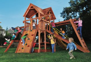Woodplay Playsets Playhouse PH.6XLB