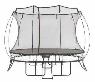 Medium Oval Trampoline by Springfree Trampoline 8'x11', model O77