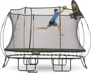 Large Oval Trampoline by Springfree Trampoline 8'x13', model O92