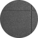 Rubber safety tiles - color Grey