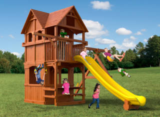 Woodplay Playsets Playhouse XL PH.6XLD