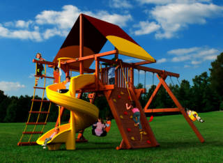 Woodplay Playsets Outback OB.6D