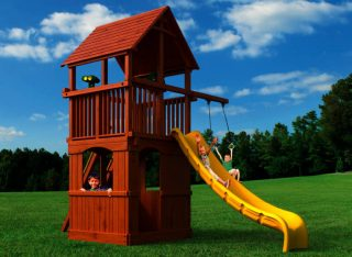 Woodplay Playsets Playhouse PH.6G