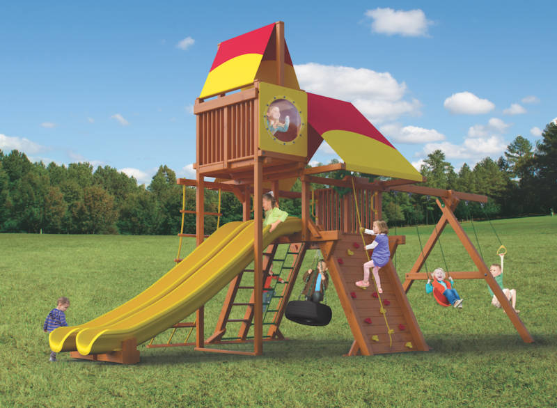 Woodplay Playsets Outback OB.6C