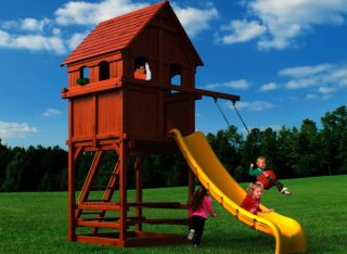 Woodplay Playsets Playhouse PH.6F