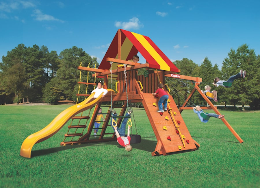Woodplay Playsets Lions Den LD.A