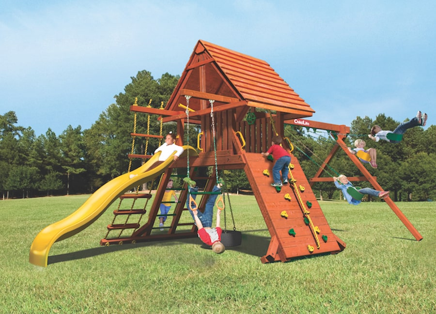 Woodplay Playsets Lions Den LD.B