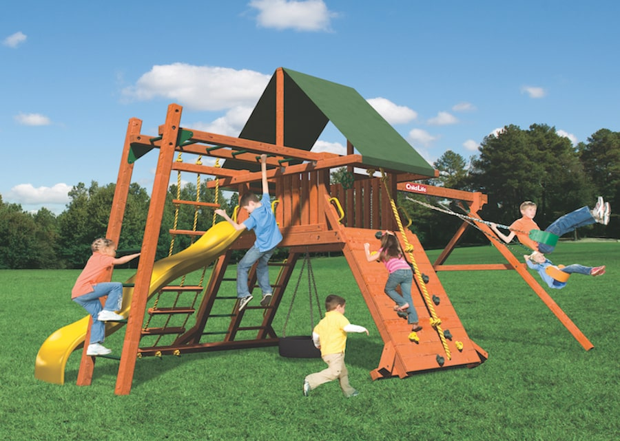 Woodplay Playsets Lions Den LD.C