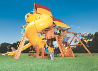 Woodplay Playsets Outback OB.6XLB