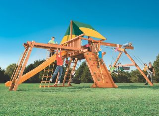 Woodplay Playsets Outback OB.7XLB